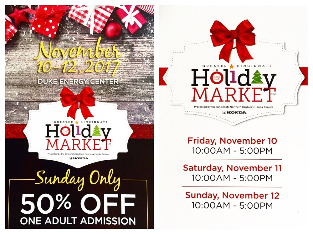 Greater Cincinnati Holiday Market 2017