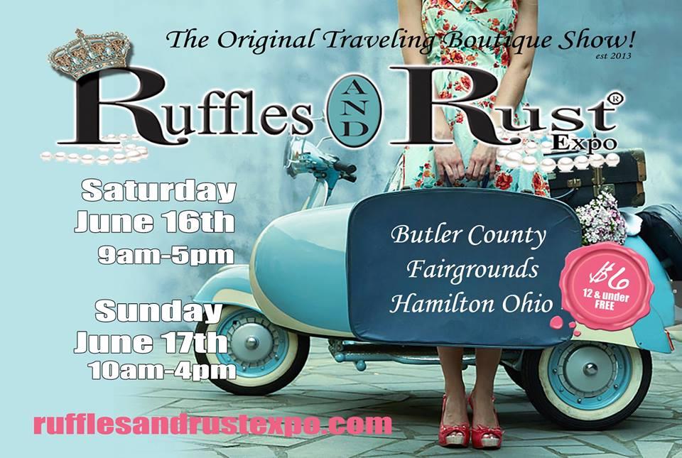 Ruffles and Rust June 2018