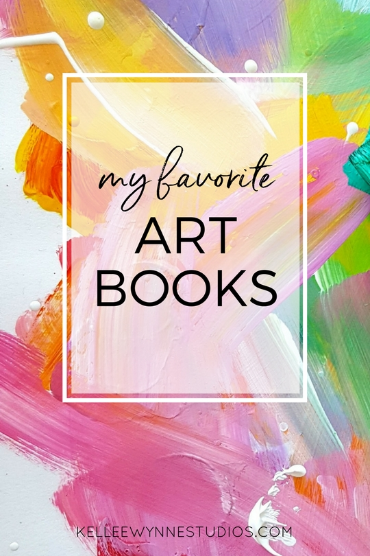my favorite art books by Kellee Wynne Studios on the Color Crush Creative blog for artists