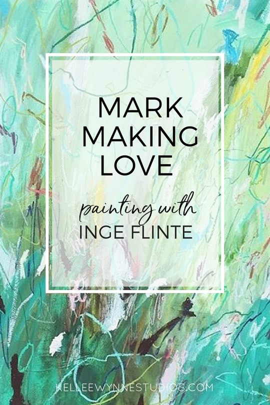Mark Making Love with Inge Flinte for Kellee Wynne Studios and Color Crush Creative artist spotlight, creative process.jpg