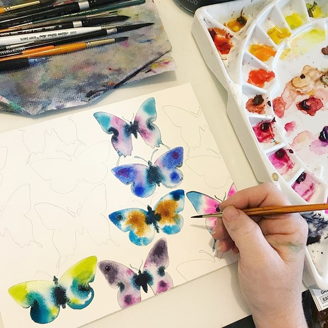 Make More Mistakes, Painting with Melanie April for Kellee Wynne Studios Color Crush creative Blog 18.jpg