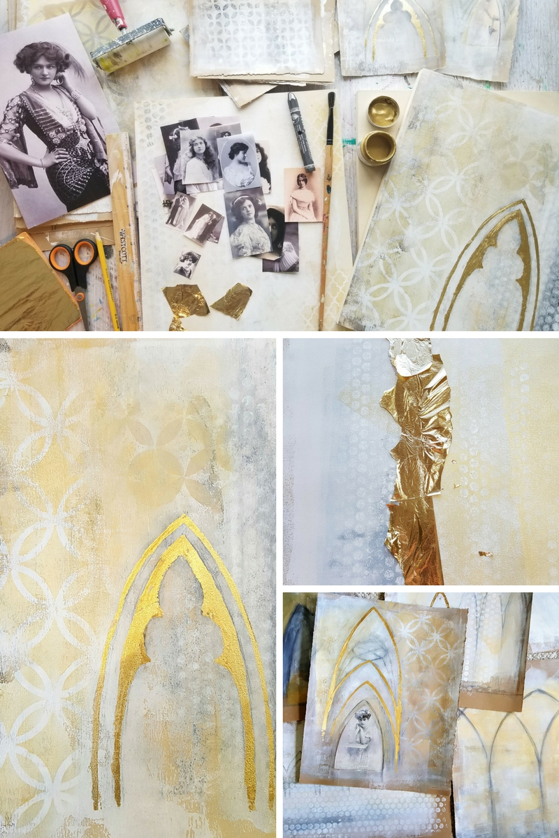 Timeless Arches, mixed media workshop with Kellee Wynne Studios graphic promo.jpg