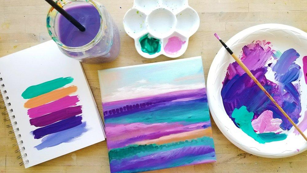 Kellee Wynne Studios Color Crush Creative palette 39, Happy Dance.jpg