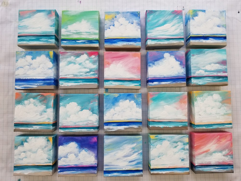 Seascape Escape mini acrylic painting Kellee Wynne Conrad 2018 Collection 1.jpg