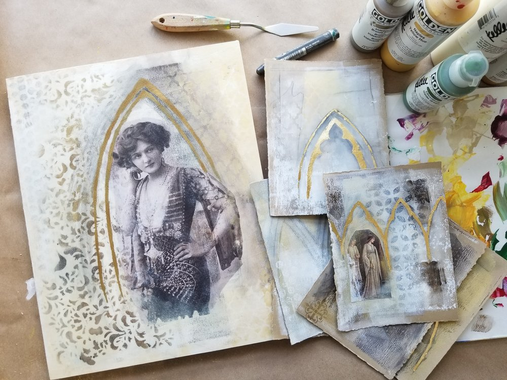Timeless Arches, mixed media workshop with Kellee Wynne Studios 13.jpg