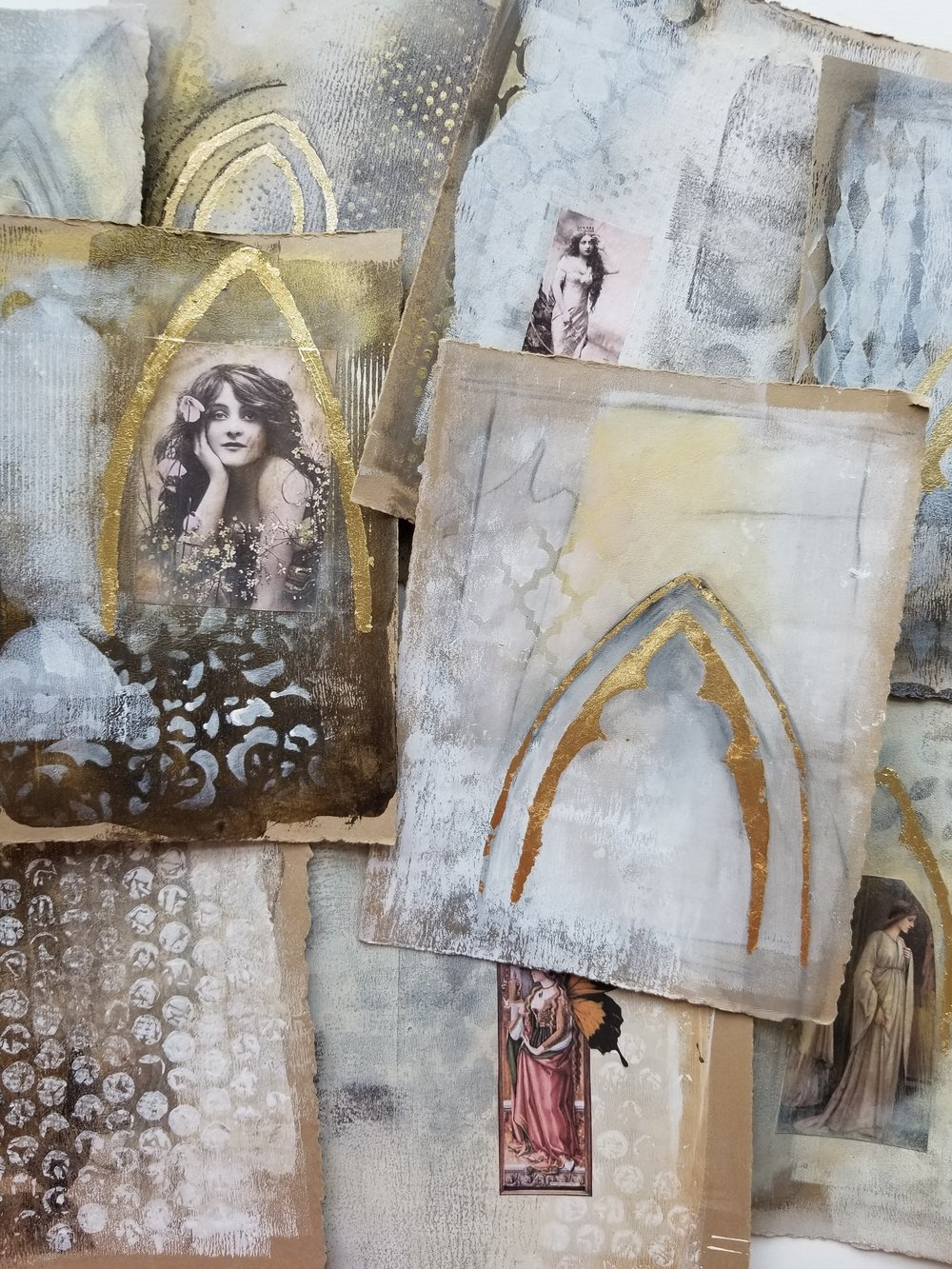 Timeless Arches, mixed media workshop with Kellee Wynne Studios 9.jpg