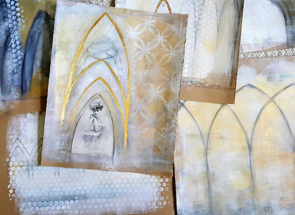 Timeless Arches, mixed media workshop with Kellee Wynne Studios 2.jpg