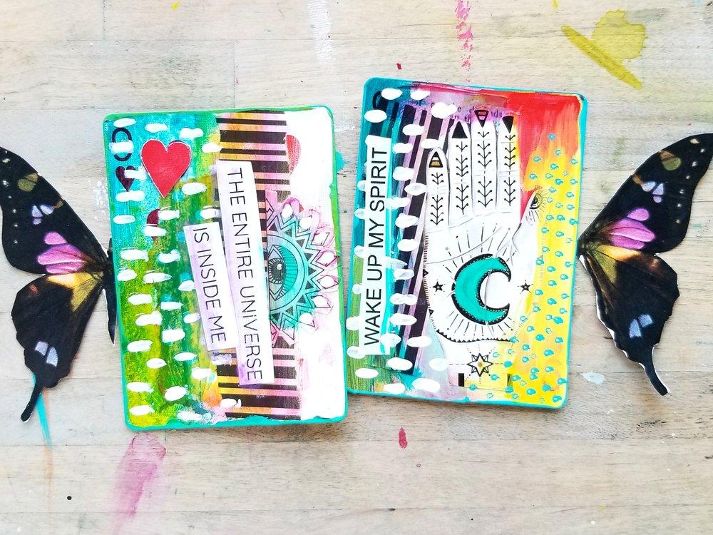 FortuneART Cards mixed media class by Kellee Wynne Studios 6.jpg