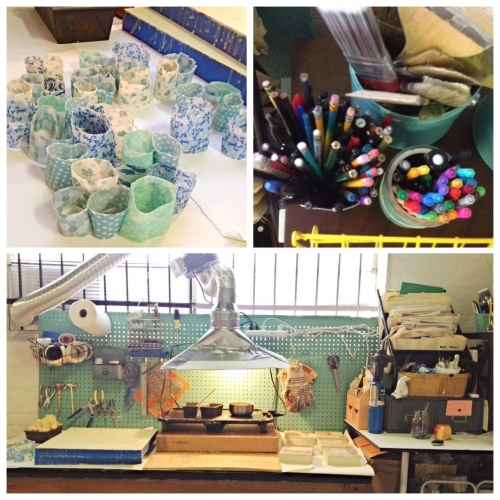 studio tour | Shannon Newby | Raleigh, NC | www.newbyart.com
