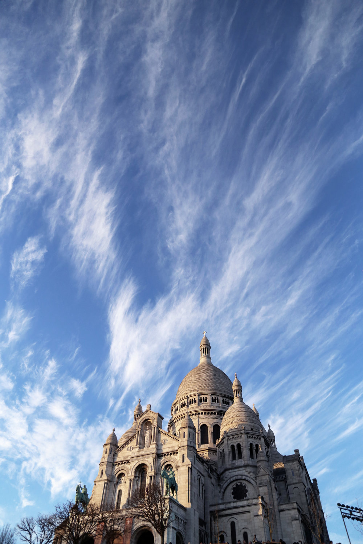 Basilica of the Sacre Coeur on top of Montmarte.