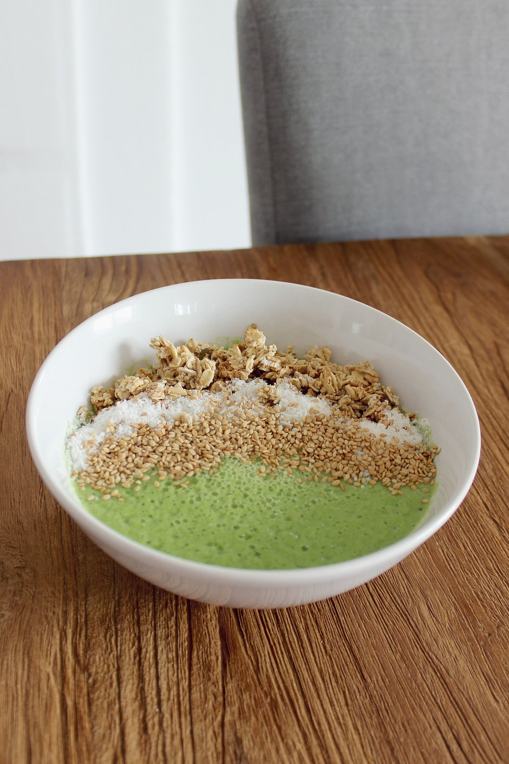 sweet & sourgreen smoothie bowl - 4 august 2017