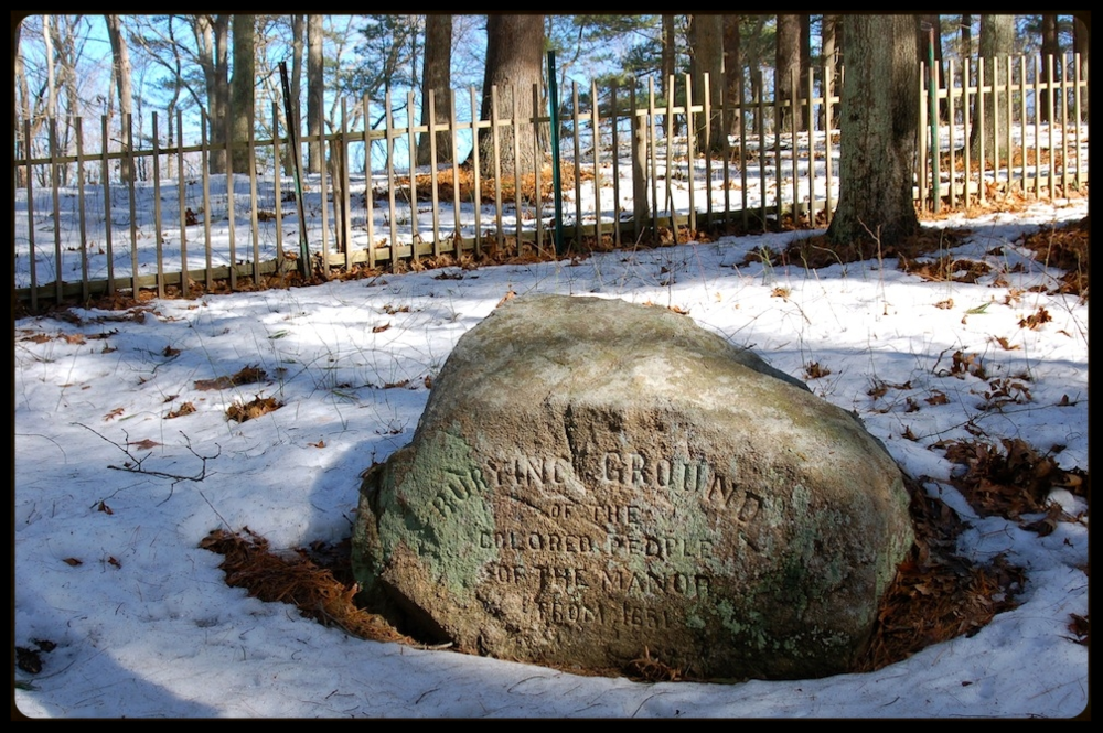 Burying Ground of the Colored People (Grave Marker) Photo: Sylvester Manor Educational Farm