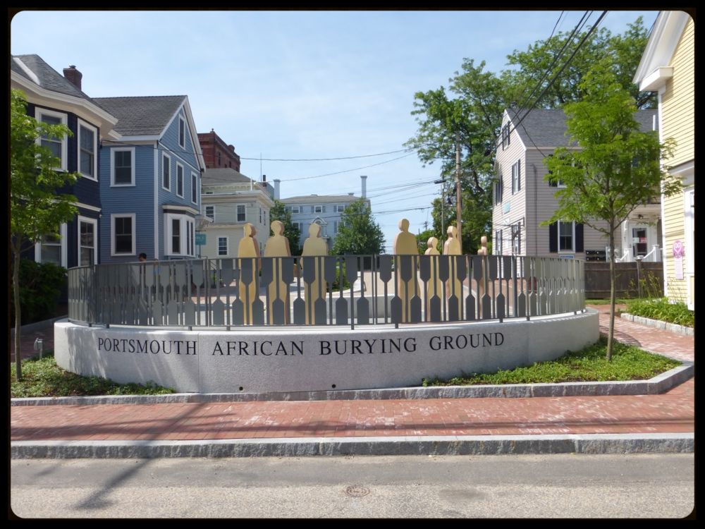 Portsmouth African Burying Ground Photo: City of Portsmouth