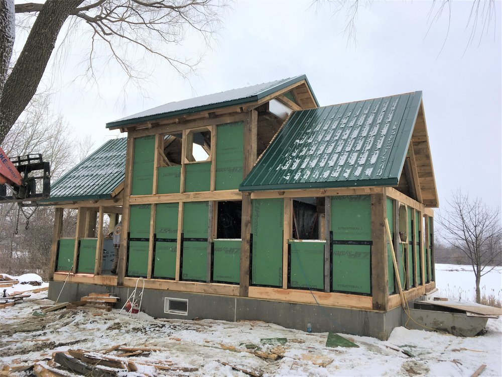 Front View of Hector Construction