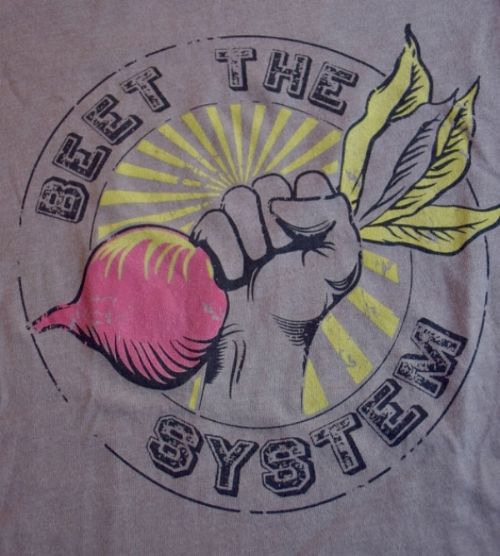 Beet The System T-Shirt [$20] by way of Queen Beet Designs