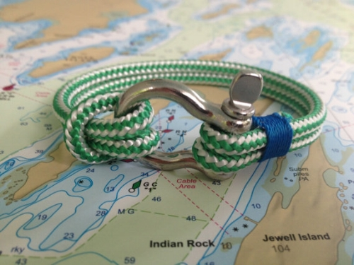Rope Bracelet [$26] by way of Sailwinds Trading Co