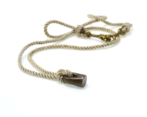 Signet Drop Necklace [$85] by way of Cat Bates