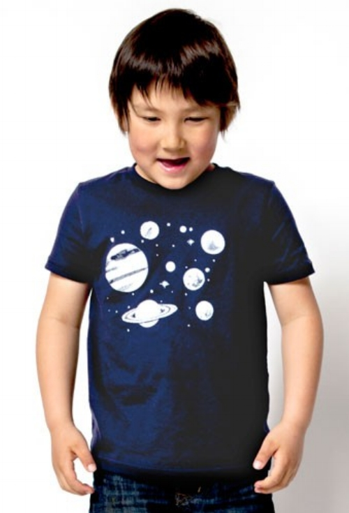 Solar System Tee [$20] by way of Pinecone + Chickadee