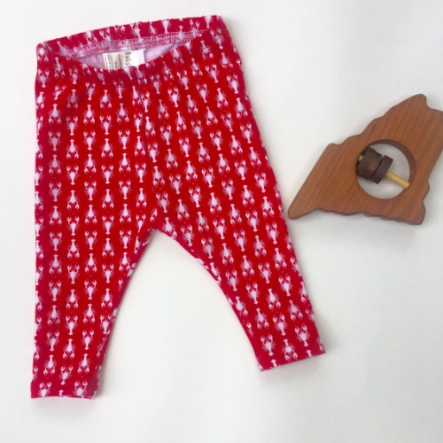 Lobster Leggings [$22] by way of Baby Haus