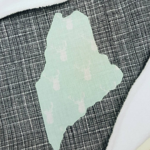 Maine Baby Blanket [$52] by way of GoBabe
