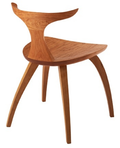 Meridian Dining Chair [$1,270] by way of Thos. Moser