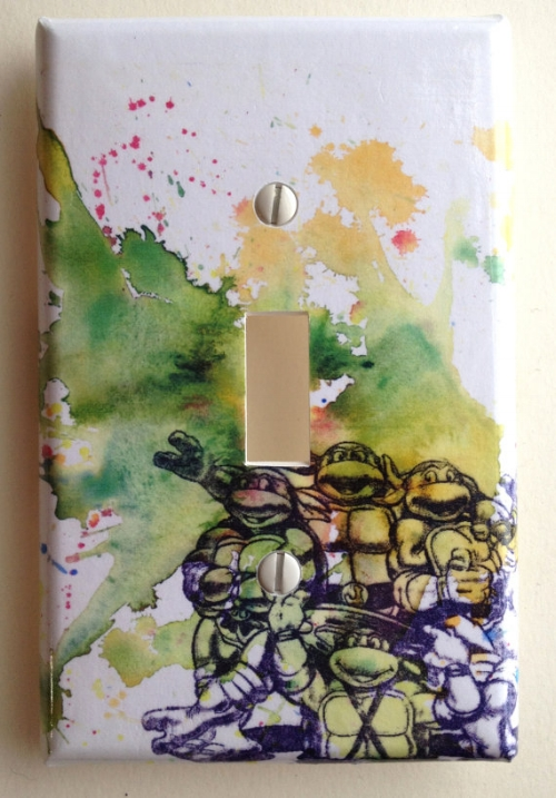 Teenage Mutant Ninja Turtles Light Switch [$13] by way of iDillard