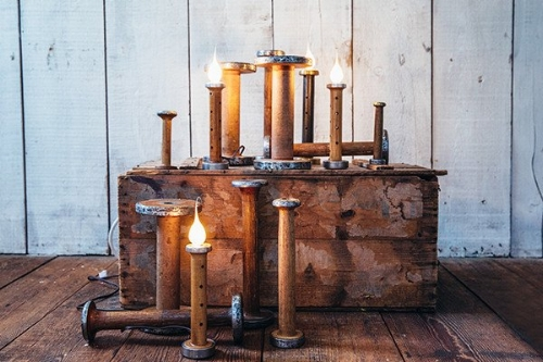 Electric Candle Lamps [$16] by way of The Good Supply