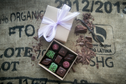 Handcrafted Chocolates [$23] by way of PR Craft Confections