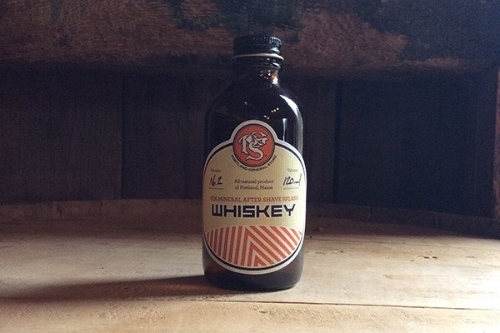 Whiskey After Shave [$18] by way of The Good Supply