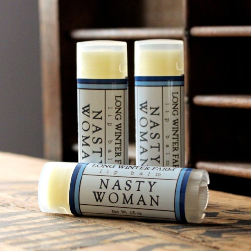 Nasty Women Lip Balm [$4] by way of Long Winter Farm