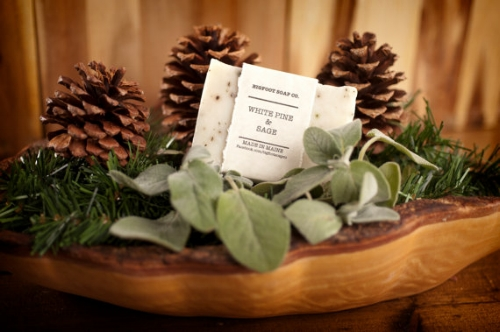 White Pine + Sage Soap [$5.50] by way of Bigfoot Soap Co.