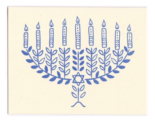 Hannukah Card [$4] by way of Morris and Essex