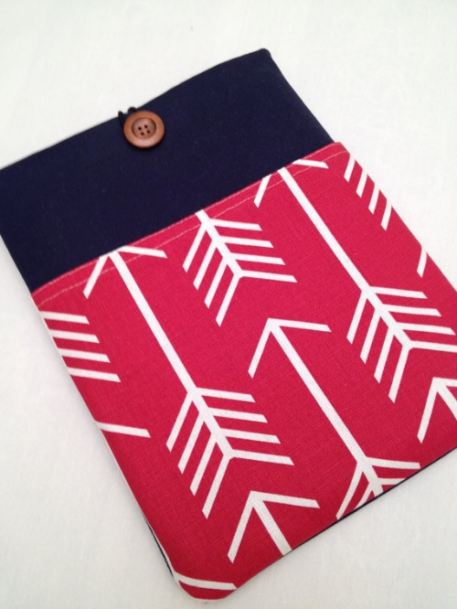 iPad Padded Sleeve [$27] by way of KennebunkportDesigns