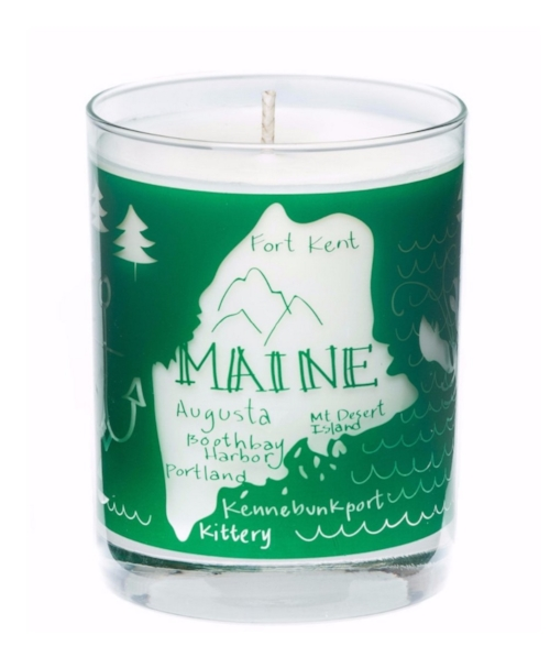Maine Candle [$28] by way of Seawick Candles