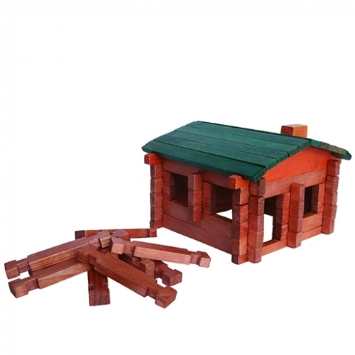 Classic Log Cabin Playset [$18] by way of RoyToys
