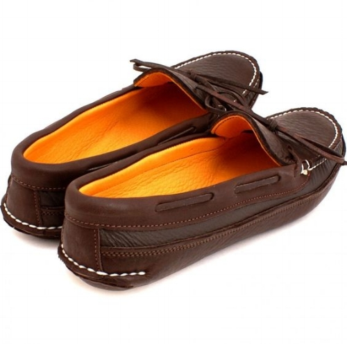 Canoe Moc [$175] by way of Wassookeag Moccasins