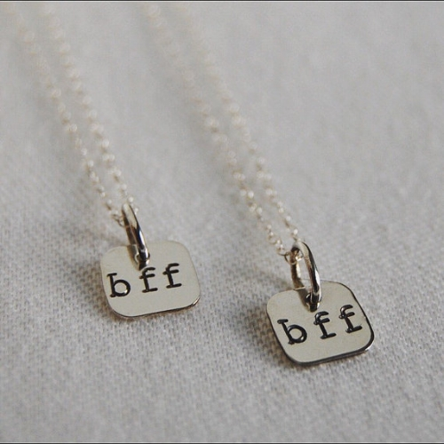 BFF Necklace [$28] by way of Lofted Designs