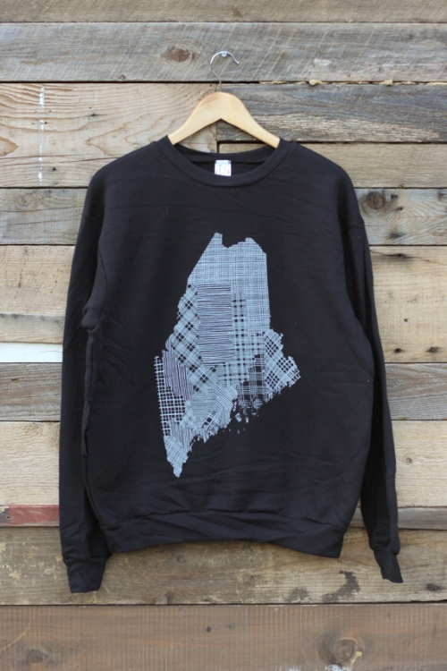 Counties of Maine Crewneck Sweatshirt [$42] by way of byBethany