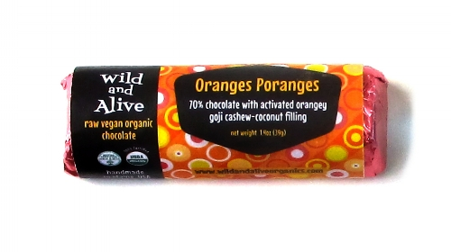 Raw Vegan Organic Chocolate [starting at $5] by way of Wild and Alive Organics