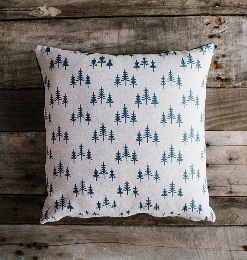 Treeline Natural Pillow [$32] by way of Hills & Trails