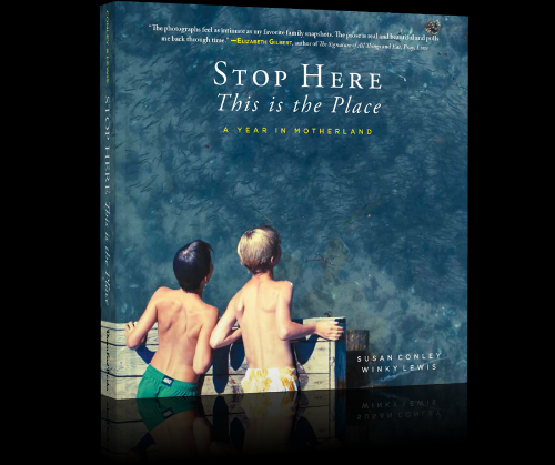 Stop Here. This is the place. [$15] by way of Susan Conley and Winky Lewis