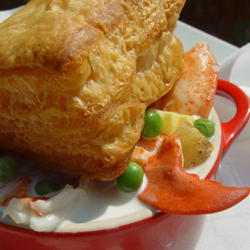 Fresh Maine Lobster Pot Pies (2 for $65) by way of Kennebunk Inn + FoodyDirect