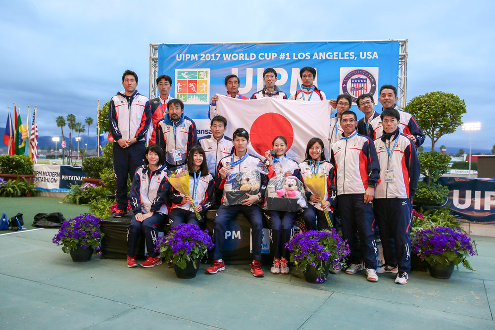 World Cup Pentathlon 2017: The Japanese Team