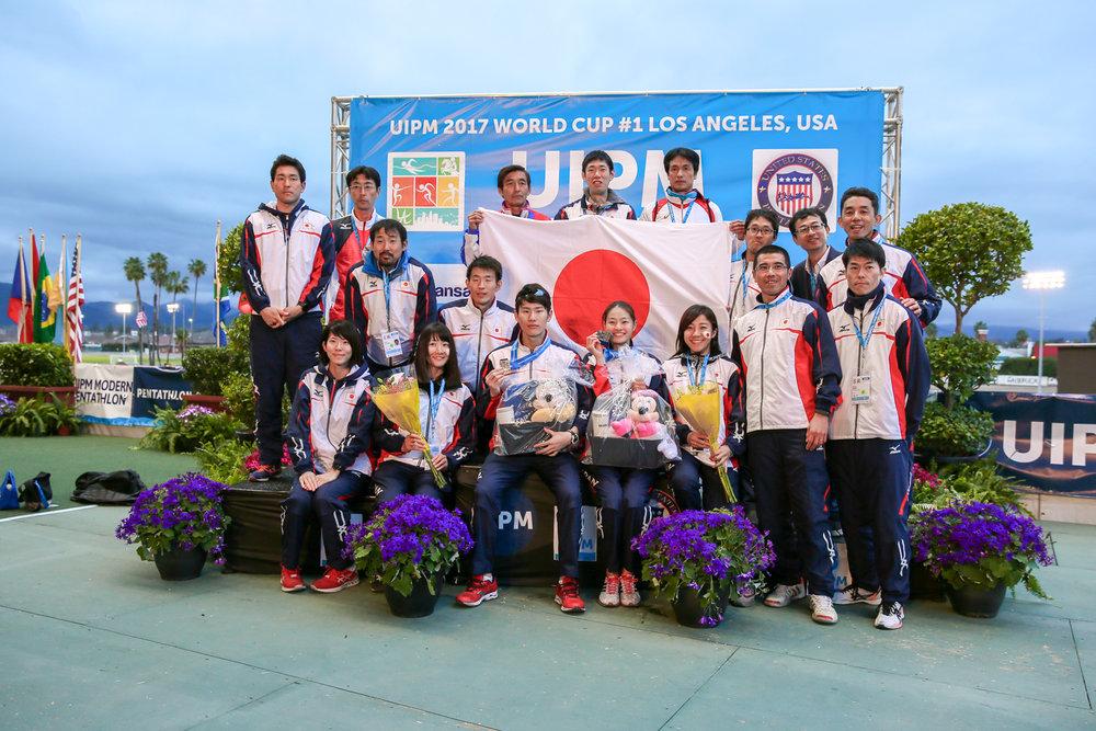 World Cup Pentathlon 2017: The Japanese Team
