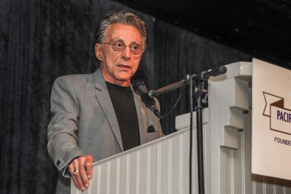 Frankie Valli: Art Gilmore Award