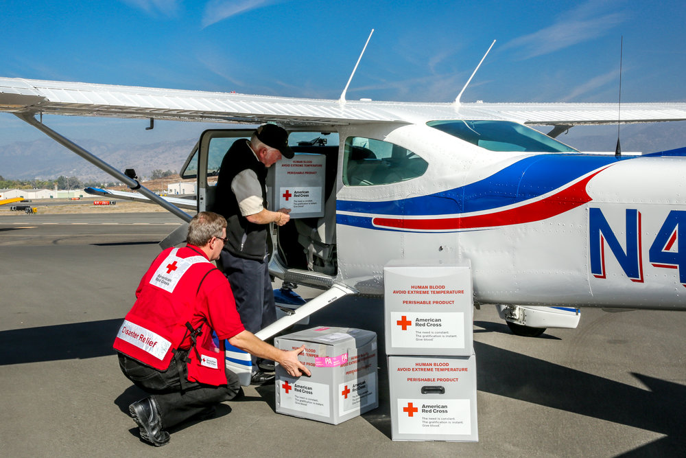"Disaster Air Response Exercise: ""Blood Air Bridge"""