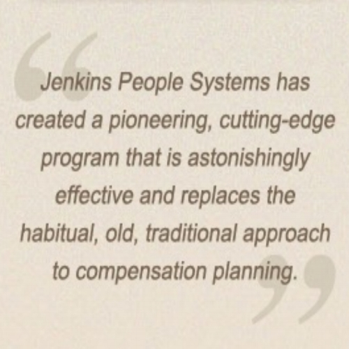 JENKINS PEOPLE SYSTEMS is a proprietary tool that analyses and visualises your pay data - built by Mary Jenkins, the Queen of Abolishing Performance Appraisals as far as we're concerned! To experience and reimagine your pay systems: Bolt On Jenkins People Systems.