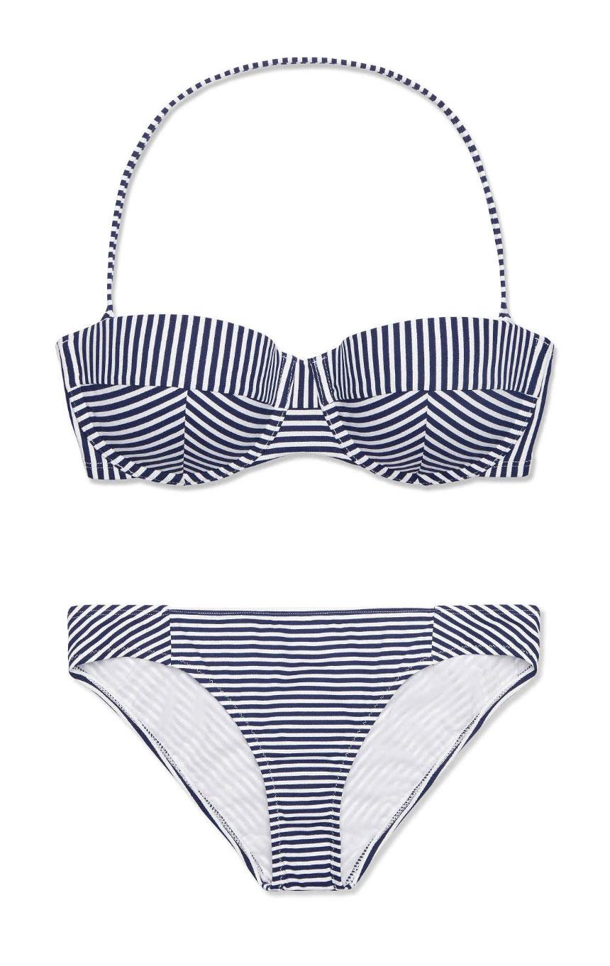 Tory Burch Striped Bikini