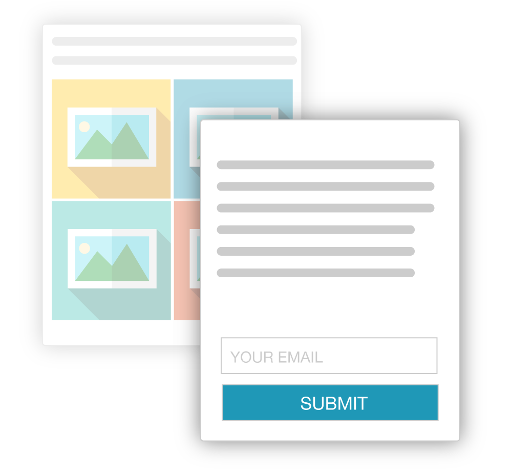 The New Era of Lead Gen Create meaningful connections thanks to our auto-segmenting capabilities, streamlined right into your CRM or email marketing