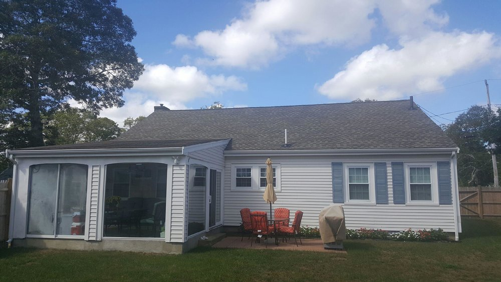 Buzzards Bay Metal Roof Before